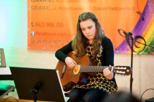 dziewczyna gitara