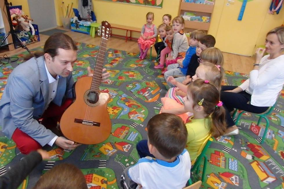 nauczyciel Virtuoso i przedszkole