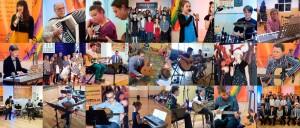 Zdjęcia uczniów naszej szkoły z występów