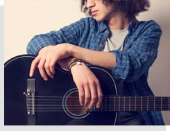 nauka gry na gitarze akustycznej w rzeszowie