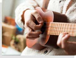 Czy nie myślałeś aby nauczyć się grać na ukulele?