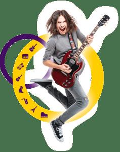 Virtuoso Szkoła Muzyki Rozrywkowej - Człowiek z gitarą