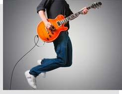 nauka gry na gitarze elektrycznej w szkole muzycznej